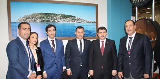 5 İstanbul Valisi Vasip Şahin Alanya standını ziyaret etti