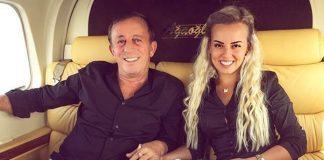 Ali Ağaoğlu ve sevgilisi