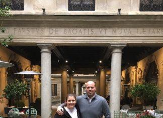 İş adamı Levent Kızıl'ın kızı Milano'da kep attı.
