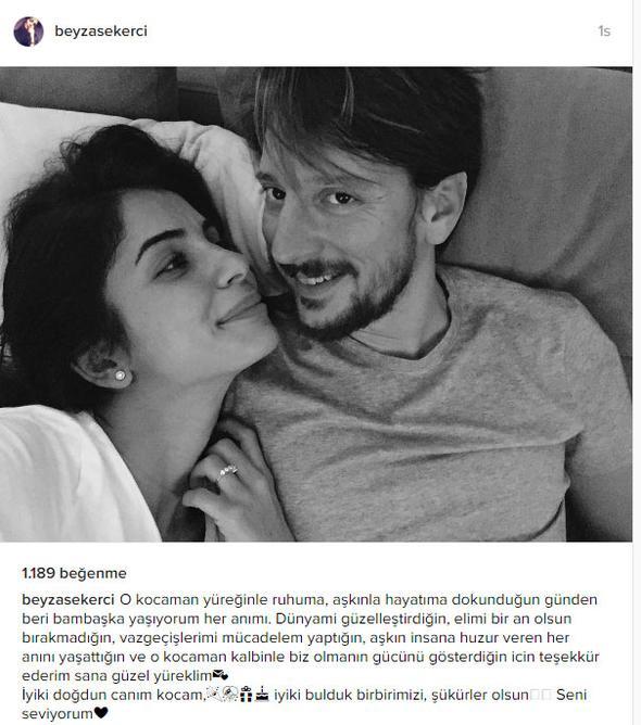 Beyza Şekerci, Engin Hepileri, Instagram