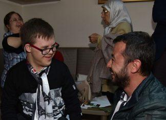 Alanya Beşiktaşlılar Derneği Başkanı Sadık Dizdaroğlu, Down Sendromlu çocuklar ile buluştu