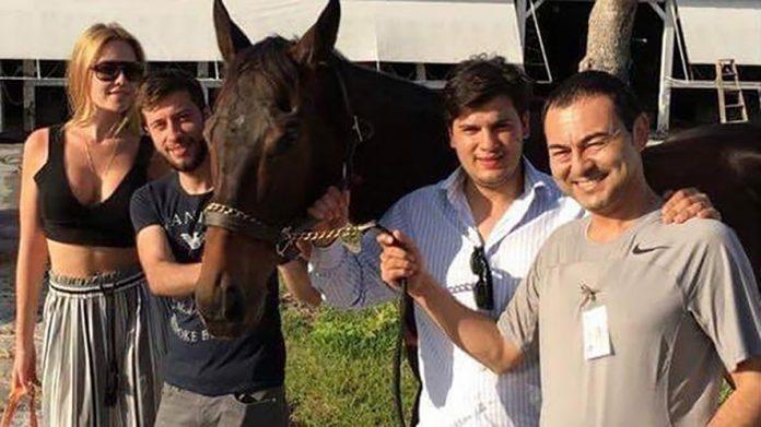 Serdar Ortaç'a atı uğurlu geldi
