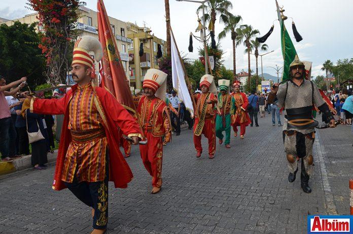 Alanya'da renkli festival