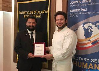 Alanya International Rotary Kulüp 2. yıl kutlama yemeğini Seasons Restoran'da verdi.