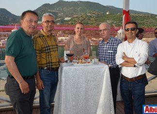 Alany Marina Yat Yönetimi sezon açılışına özel kokteyl düzenledi
