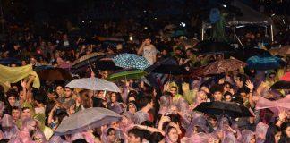 Alanya Festivaline yağmur engeli