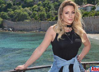 Sırp Popstar Ana Kokiç Alanya'da