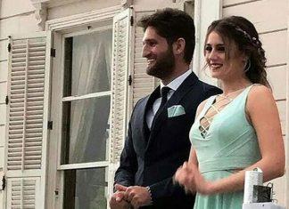 Oyuncu Gizem Karaca ve Kemal Ekmekçi nişanlandı