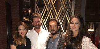 Geçtiğimiz cumartesi günü başarılı yönetmen Biray Dalkıran'ın eşi Manuela Santini'nin ve ünlü oyuncu Cemal Hünal'in eşi Lale Cangal'ın doğum günüydü. Bu nedenle ünlü çiftler Secret Garden'da dostlar arasında bir kutlama düzenledi.