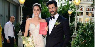 Fahriye Evcen ve Burak Özçivit evlendi