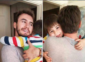 Mustafa Ceceli, oğluyla birlikte olduğu fotoğrafı eleştiren takipçilerine tepki verdi