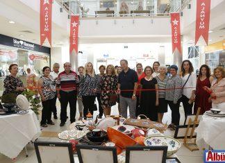 Sırdaki Çiçekler Sanat Atolyesi Alanyum'da sergi açtı