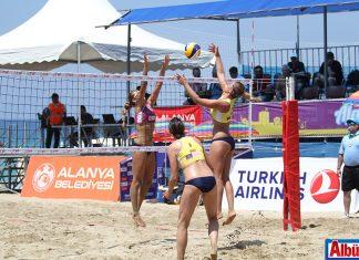 2017 CEV Bayanlar Plaj Voleybolu Avrupa Şampiyonası başladı