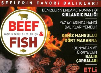 Beef&Fish dergisinde Alanya