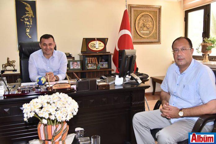 ALTİD Başkan Yücel'i ziyaret etti