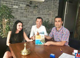 Asiye Tunçalp, Kamil Özil ve Mehmet Dahaoğlu
