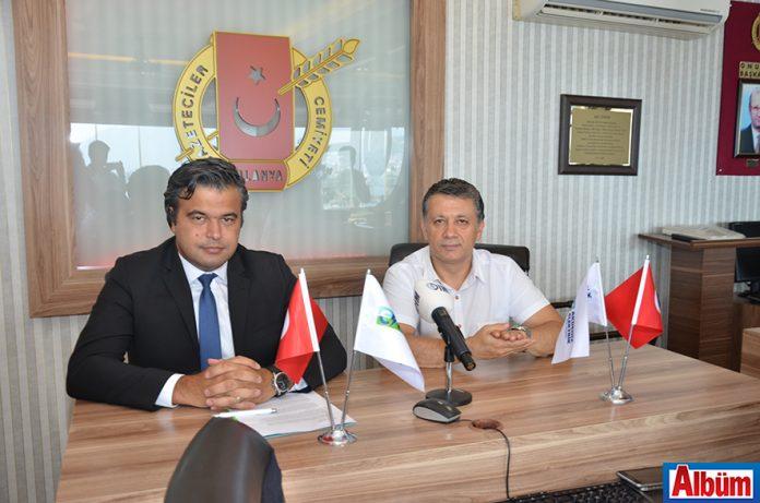CK Akdeniz Elektrik Genel Müdürü Erol Değerli, Alanya Gazeteciler Cemiyeti'nde gazetecilerle kahvaltıda bir araya geldi.