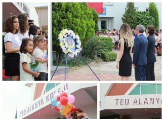 TED Alanya Koleji 2017-2018 Eğitim Öğretim Yılının açılışını, kuruluşunun 10. yılında kalabalık bir törenle gerçekleştirdi.
