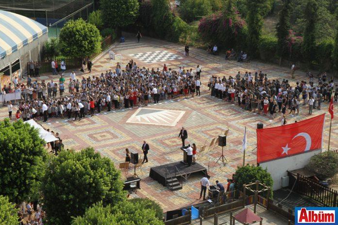 Bahçeşehir Alanya Okulları'nda yeni döneme özel görkemli tören