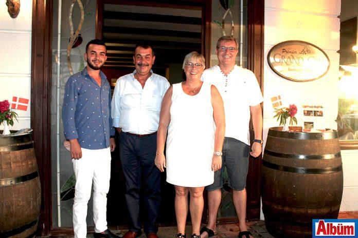 Eurodan Group'un 10. yıl kutlaması Grand Cru Restoran'da çok sayıda davetlinin katılımı ile gerçekleştirildi