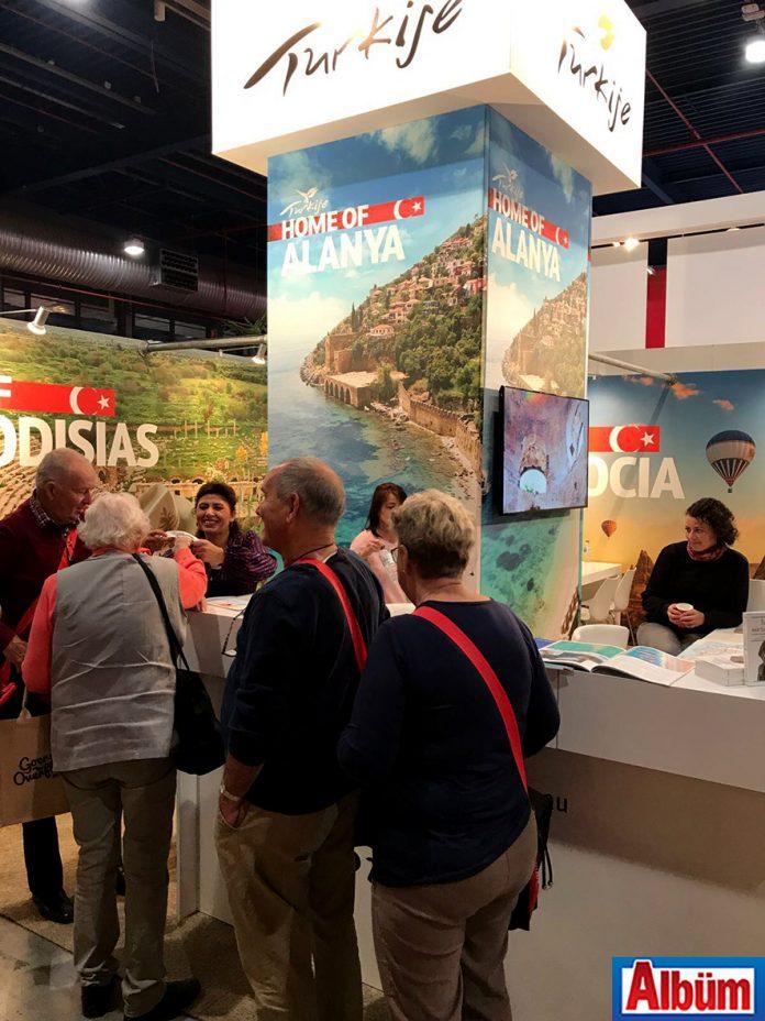 Alanya Turizm Tanıtma Vakfı üçüncü kuşak olarak da tabir edilen emekli ve sonrası yaş grubu turist profili için Hollanda 50 Plus Beurs Fuarı'nda yerini aldı.