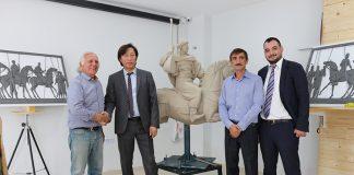 Maliyeti yaklaşık 40 Milyon TL olarak hesaplanan Köroğlu Heykeli ve Kaide Binası Projesi'nin tanıtımı Antalya'da yapıldı.