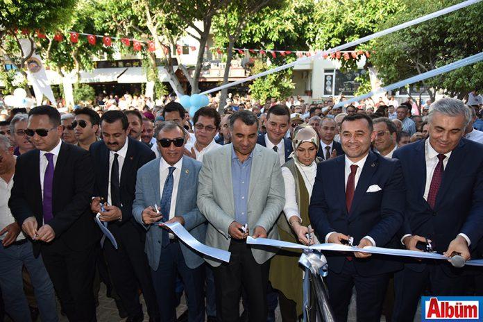 Alanya Teleferik resmi açılış töreni