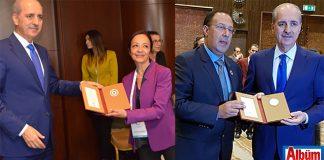 Ankara'da yapılan Turizm Şurası'na Alanya'dan TÜROFED Yönetim Kurulu Üyeleri Burhan Sili ve Gülçin Güner katıldı.