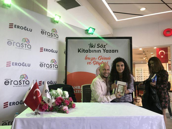 Ünlü Yazarlar Okurlarıyla Erasta Antalya'da Buluştu