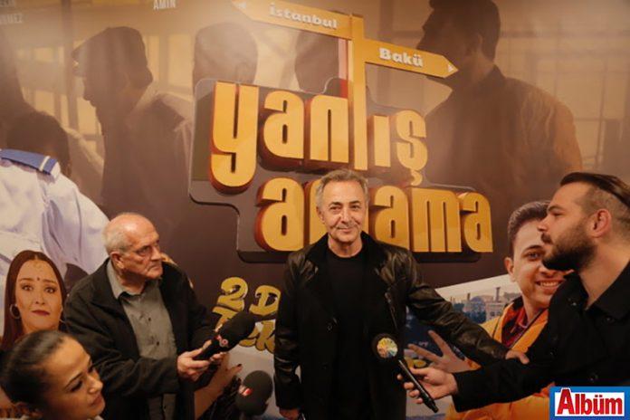 Mehmet Aslantuğ- Baba Sahne- Yanlış Anlama- film galası