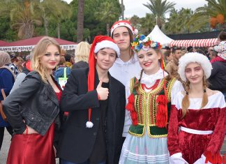 Noel'e özel neşeli pazar - Alanya Belediyesi Yabancılar Meclisi 8. Uluslararası Noel Pazarı