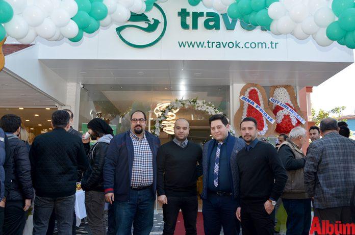 Travok'a kalabalık açılış