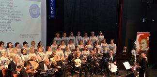 Çağdaş Yaşamı Destekleme Derneği Türk Sanat Müziği Topluluğu Selahattin Pınar Anma Gecesi