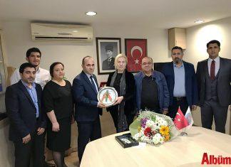 Alanya Kent Konseyi, İstanbul Alanyalılar Dernek Başkanı Eyüp Kaya ve yönetim kurulu üyeleri Emine Yılmaz, Ali Yıldız, Hasan Gökçe, Hüseyin Kiriş, Hüseyin Doğan'ı ağırladı.