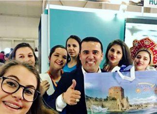 """Alanya Turizm Tanıtma Vakfı Yönetim Kurulu Üyesi Kerim Yılmaz, """"Sofya'da yapılan turizm fuarında Alanya'ya kardeş şehir teklifi geldi"""" dedi."""
