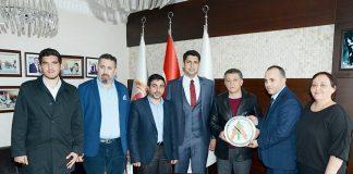 İstanbul Alanyalılar Derneği Başkanı Eyüp Kaya ve Yönetim Kurulu üyeleri Alanya Gazeteciler Cemiyeti'ni ziyaret etti.