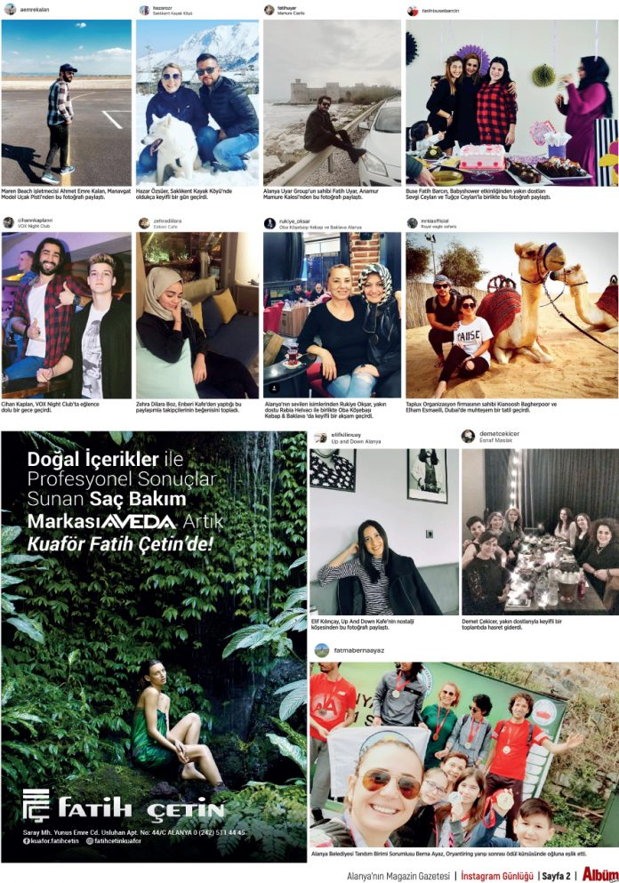Instagram'da Öne Çıkanlar (497. Hafta)