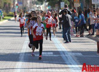 Gazi Mustafa Kemal Atatürk'ün Alanya'ya gelişinin 83. Yıl dönümü nedeniyle Alanya'da bulunan okullar arasında kros yarışı düzenlendi.