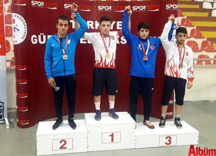 Antalya Büyükşehir Belediyesi ASAT Güreş Takımı sporcusu Adem Burak Uzun, Yıldızlar Serbest Güreş Şampiyonası'nda Türkiye şampiyonu olarak, Antalya'nın göğsünü kabarttı. Uzun, Avrupa ve Dünya Şampiyonasında Ay- Yıldızlı mayoyu giymeye hak kazandı.