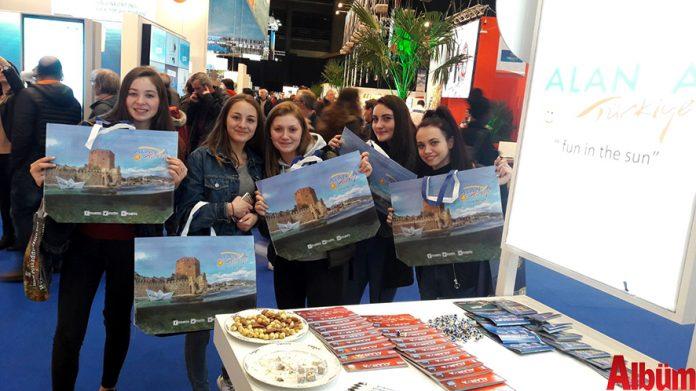 Elmas ticareti ve çikolatalarıyla ünlü Belçika'da 1-4 Şubat tarihleri arasında düzenlenen Uluslararası Brüksel Turizm Fuarı'nda Alanya tanıtımı yapıldı.
