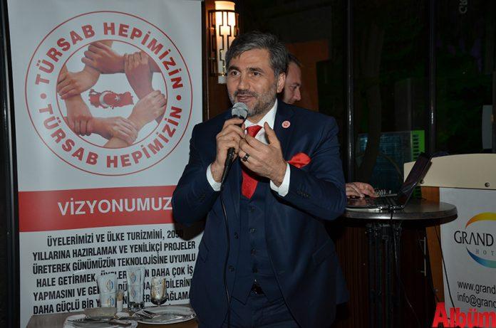Türkiye Seyahat Acentaları Birliği (TÜRSAB) 23. Dönem Başkan Adayı Emin Çakmak, '71. Ortak Akıl Toplantısı'nı gerçekleştirdi.