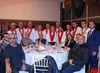 Akdeniz Profesyonel Aşçılar Birliği Yönetimi, üye ve iş ortakları için plaket töreni düzenledi.