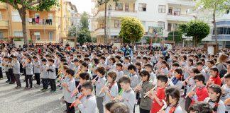 Şehit Ömer Halisdemir Ortaokulu tarafından Çanakkale Zaferi'nin 103. yılı nedeniyle bir program gerçekleştirildi.