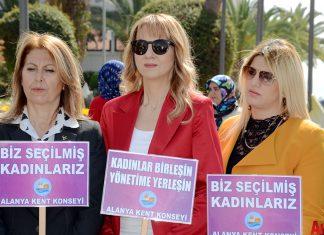 Alanya Kent Konseyi tarafından '8 Mart Dünya Kadınlar Günü' nedeniyle bir kutlama gerçekleştirildi.