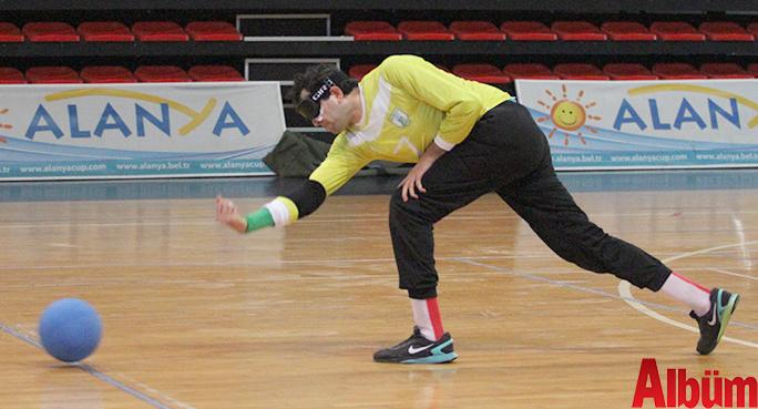 Türkiye Görme Engelliler Federasyonu tarafından Alanya'nın ev sahipliği ile 1. ve 2. Lig Erkekler Goalball Türkiye Şampiyonası müsabakaları başladı.