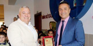 ALTSO Başkanı Mehmet Şahin tarafından yaptırılan Melahat Seher İlkokulu Kütüphanesi'nin açılışı gerçekleştirildi. Açılış sonrası ALTSO Başkanı Mehmet Şahin'e eğitime verdiği desteklerden dolayı plaket takdim edildi.