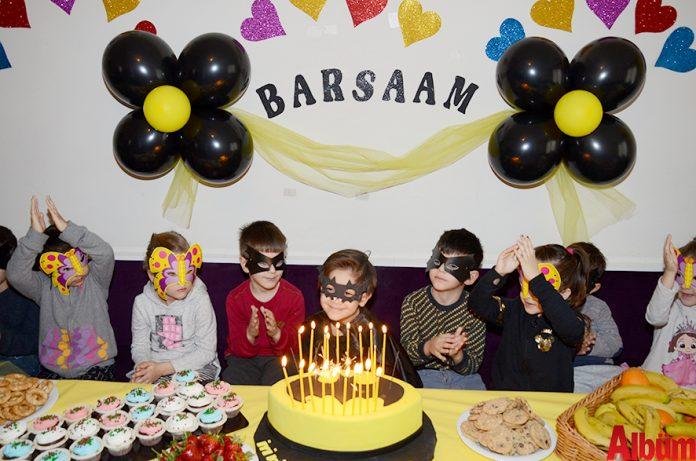 İranlı işadamı Sepehr Pournasr ile eşi Danoush Nazari'nin 5 yaşına giren oğulları Barsaam Pournasr için Ayşegül Abla Kreşi'nde renkli bir doğum günü düzenlendi.