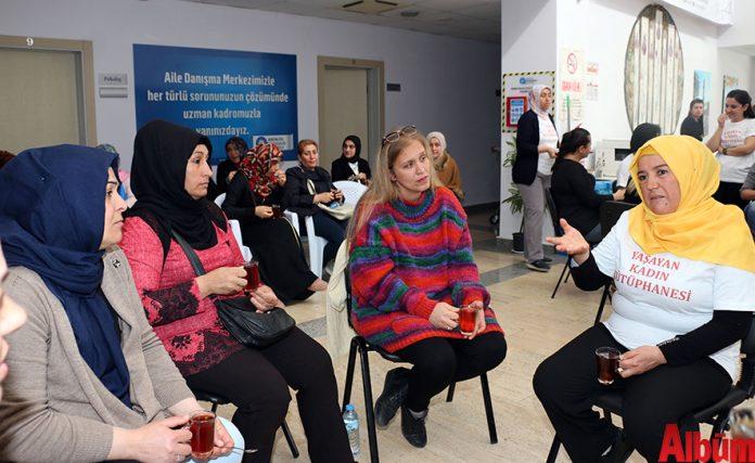 Büyükşehir Belediyesi, 8 Mart Dünya Kadınlar Günü'nde farkındalık yaratmak amacıyla Antalya'da ilk kez 'Yaşayan Kadın Kütüphanesi' etkinliği düzenledi.