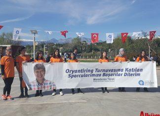 Büyükşehir Belediyesi'nin 'Okullar Ligi' projesi kapsamında oryantiring heyecanı başladı. 3 etaptan oluşacak olan oryantiring heyecanında 22 okuldan 450 sporcu ter dökecek.
