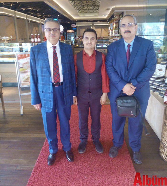 Mersin Valisi Ali İhsan Su Alanya'ya gelerek Alanya'nın gözde mekanlarından Faruk Güllüoğlu'nu ziyaret etti.